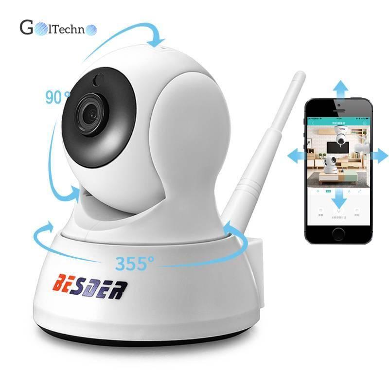 720P IP Two Way Audio Camera Security Items Small Cameras & Video Surveillance