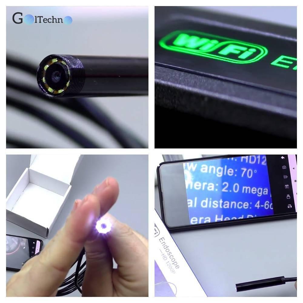 Waterproof Endoscope Mini Camera Security Items Small Cameras & Video Surveillance