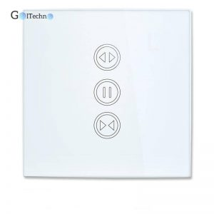 Smart WiFi Curtain Switch Automation & Remote Controls Smart Home Systems