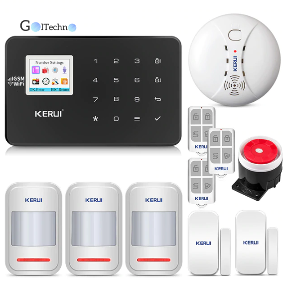 Intelligent Home WIFI GSM Security Alarm System