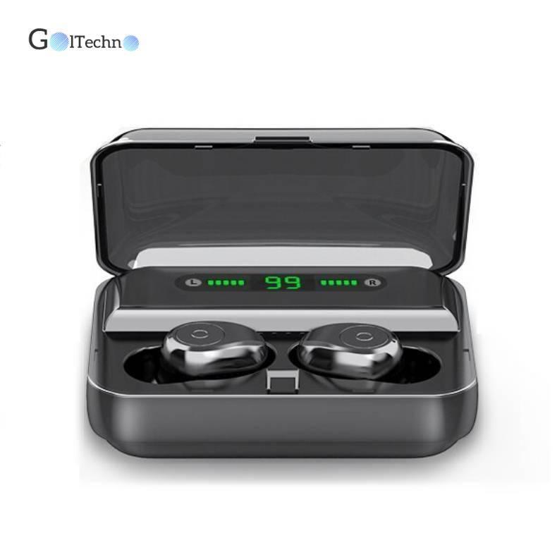 Mini Wireless Bluetooth 5.0 Earphones with Dual Microphone