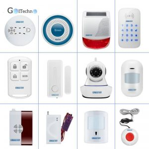 Wireless Home Security Alarm System Security Alarm & Fire Protection Security Items