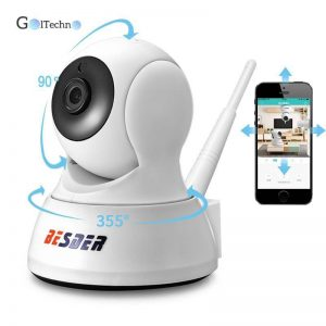 720P IP Two Way Audio Camera Security Items Small Cameras & Video Surveillance