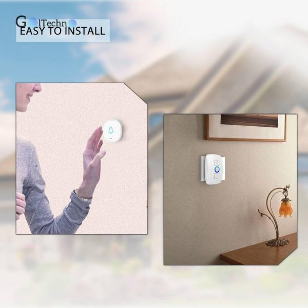 Songs Optional Waterproof Wireless Smart Doorbell Automation & Remote Controls Smart Home Systems