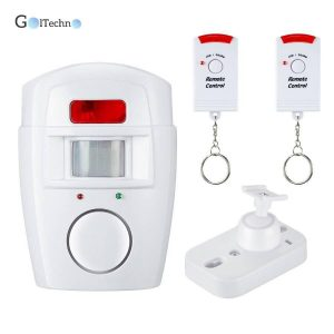 Home Security Motion Detector Monitor Automation & Remote Controls Smart Home Systems