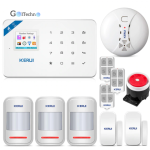 Intelligent Home WIFI GSM Security Alarm System Security Alarm & Fire Protection Security Items